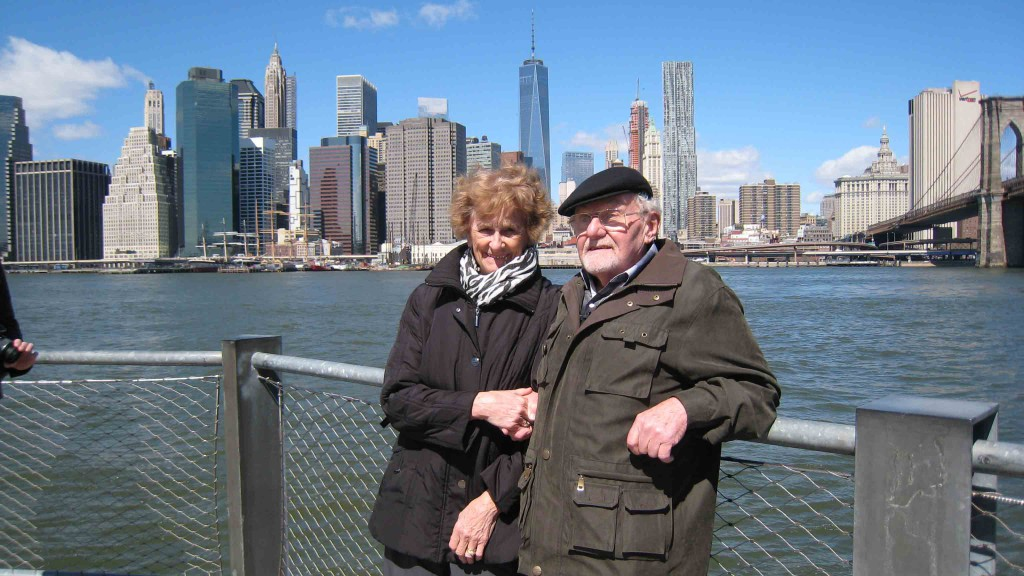 Waltraud und Wilhelm in New York