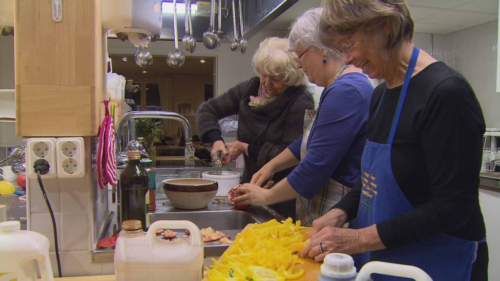 In Schweden kocht man auch zusammen! © P. Petrides